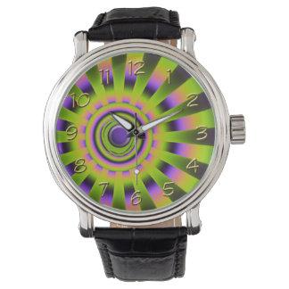 Beaming Fractal Watch