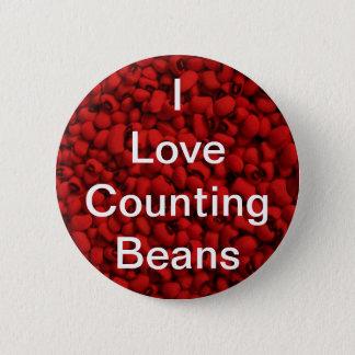 Bean Counter 6 Cm Round Badge