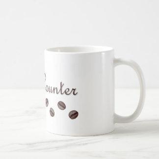 Bean Counter Basic White Mug