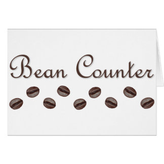 Bean Counter Card