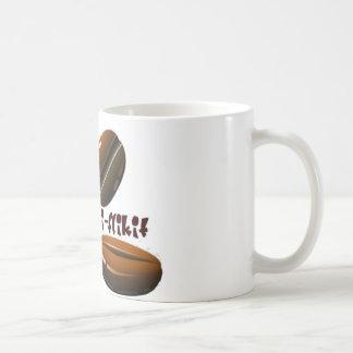 bean flicker basic white mug