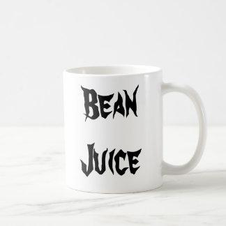 Bean Juice Basic White Mug