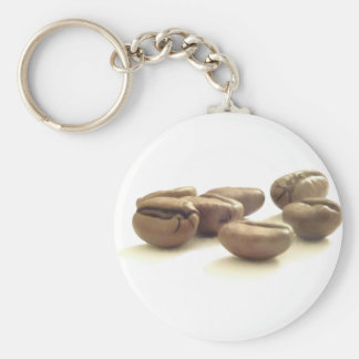 Beans By Ben Basic Round Button Key Ring