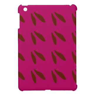 Beans on pink iPad mini case