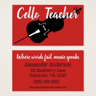 Beantown Cello Business Card