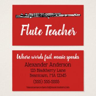 Beantown Flutes Business Card