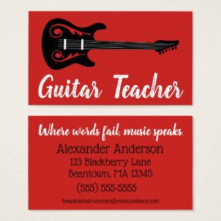 Beantown Guitar Business Card