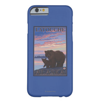 Bear and Cub - Latouche, Alaska Barely There iPhone 6 Case