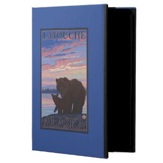 Bear and Cub - Latouche, Alaska Case For iPad Air