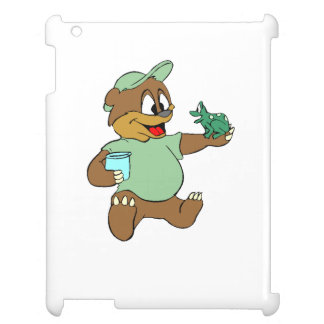 Bear And Frog Case For The iPad