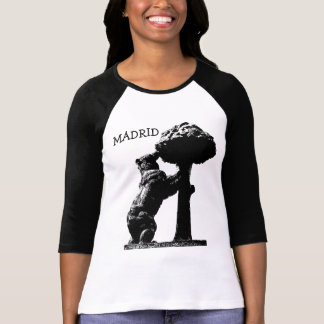 Bear and tree, Madrid T-Shirt