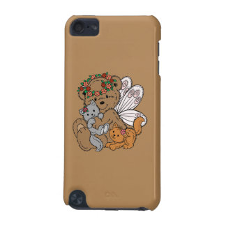 Bear Angel with Kittens iPod Touch 5G Covers