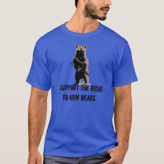 Bear arms Grizzly Bear T-Shirt