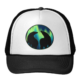 Bear Art Caps Aurora Native Art Bear Hats Caps