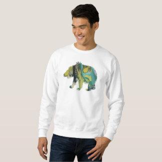 Bear art sweatshirt