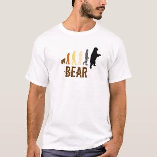 Bear/Ascent of Man Bear Colours T-Shirt