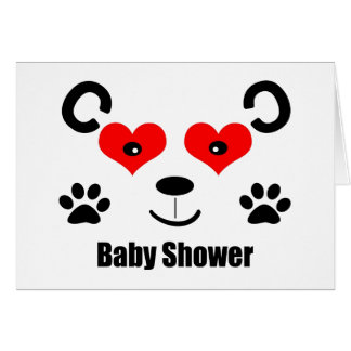Bear Baby Shower Greeting Card