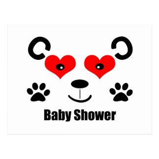 Bear Baby Shower Postcard
