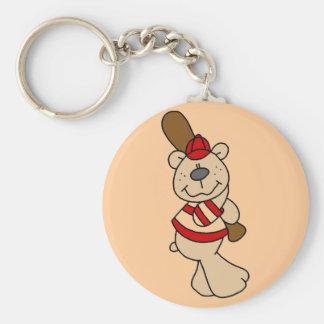 Bear Baseball Tshirts and Gifts Key Chains