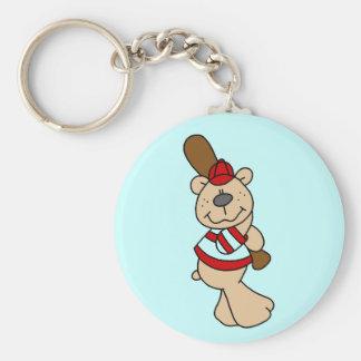Bear Baseball Tshirts and Gifts Keychains