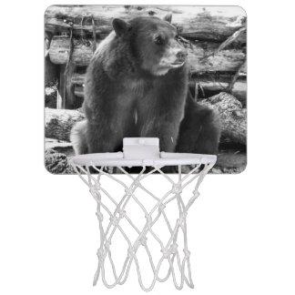 Bear Basketball Hoop