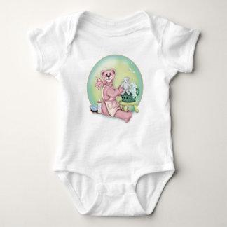 BEAR BATH Baby Jersey Bodysuit