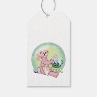 BEAR BATH BUBBLY CARTOON Gift Tag 2