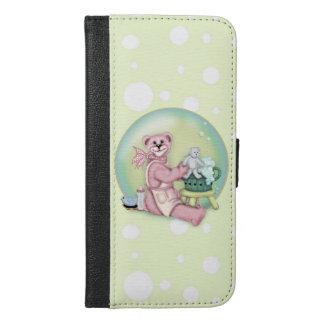 BEAR BATH LOVE iPhone 6/6s Plus Wallet