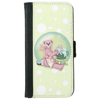 BEAR BATH LOVE iPhone 6/6s Wallet Case