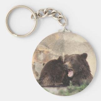 Bear Battle Key Ring