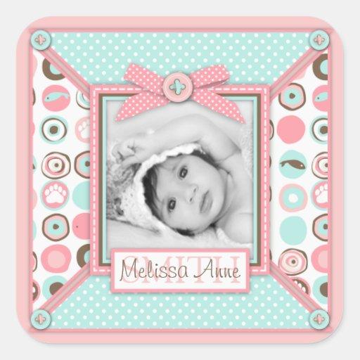 Bear Bear Girl Photo Sticker