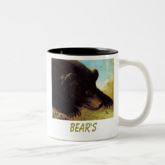 bear,  BEAR'S Two-Tone Coffee Mug