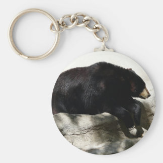 bear,black key ring