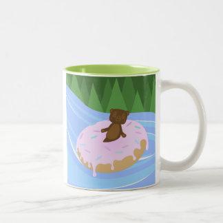 Bear Bliss Doughnut River Floatie Mug