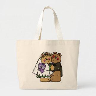 Bear Bride and Bear Groom Bag