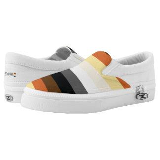 Bear Brotherhood | Pride Flag | Stripes | Slip-On Shoes