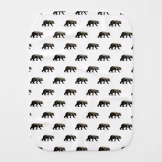 Bear Burp Cloth