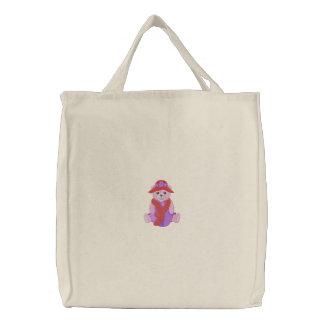 Bear Canvas Bags