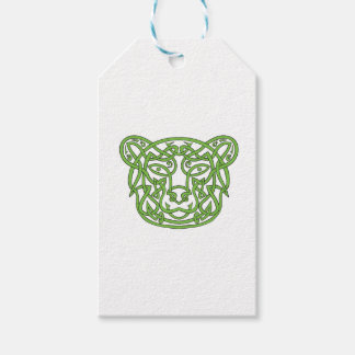 Bear Celtic Knot Gift Tags