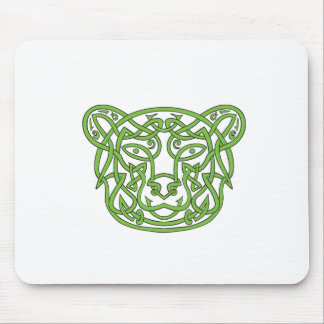 Bear Celtic Knot Mouse Pad
