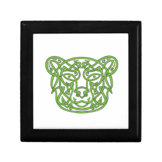 Bear Celtic Knot Small Square Gift Box