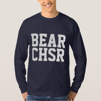 Bear Chaser BEAR CHSR White Bear Paw T-Shirt
