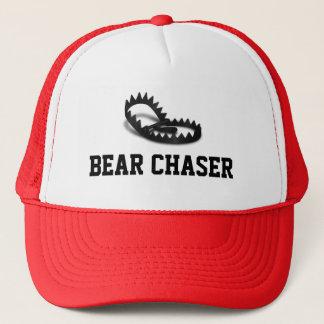 Bear Chaser Grey Bear Trap Trucker Hat