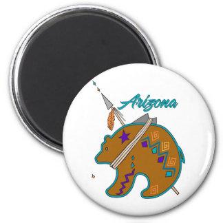 Bear Clan Arrow 6 Cm Round Magnet