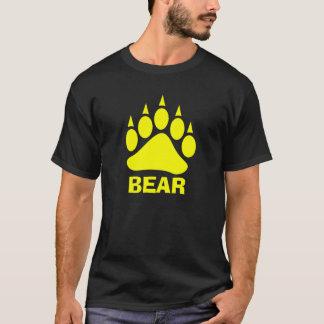 Bear Claw Bear (Bright Yelow) T-Shirt