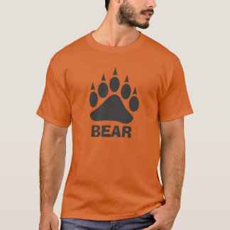 Bear Claw Bear (Grey) T-Shirt