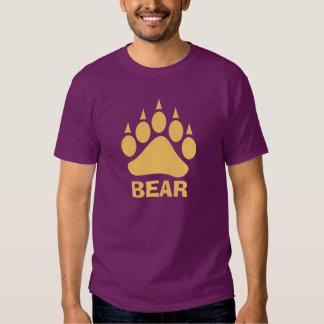 Bear Claw Bear (Peach) Shirts