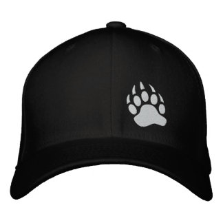 Bear Claw Embroidered Hat