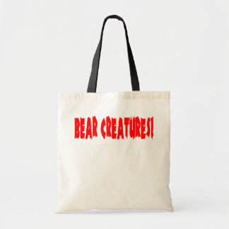 Bear Creatures! Canvas Bags