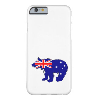 """Bear Cub """"Australia"""" Barely There iPhone 6 Case"""